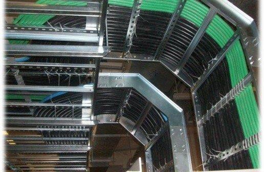 Infraestrutura de instalações elétricas