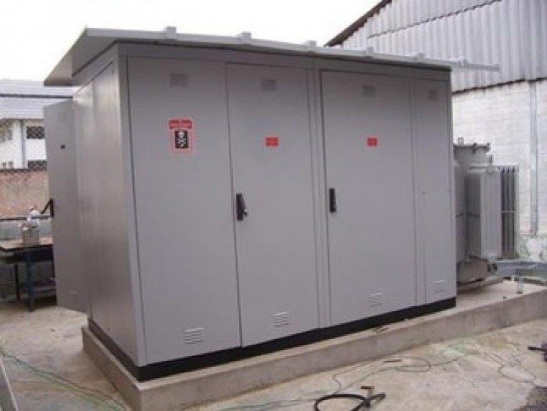 Instalação de cabine primária