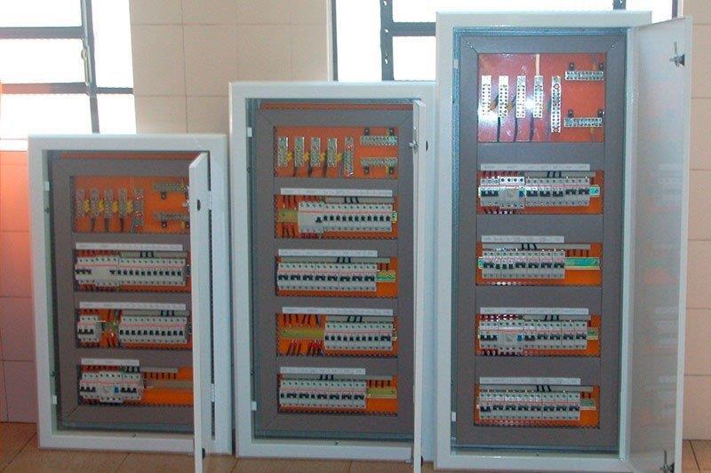 Instalação de painéis elétricos industriais