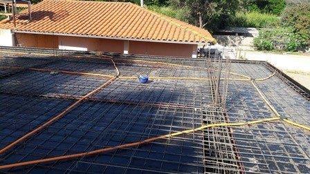 Montagem de infraestrutura elétrica
