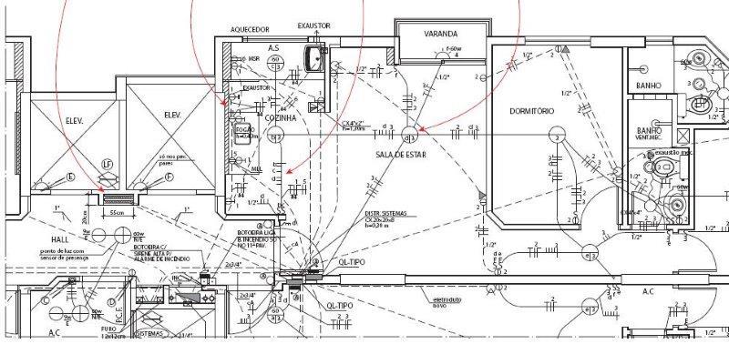 Preço projeto elétrico comercial