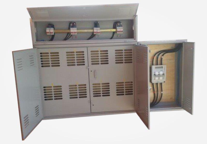 Projeto de entrada de energia elétrica
